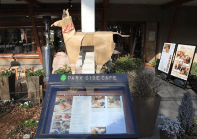 DOG at Park Side Cafe Ueno Park