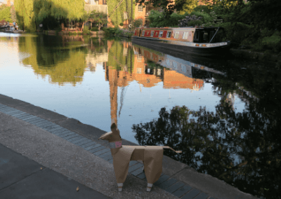 DOG by canal
