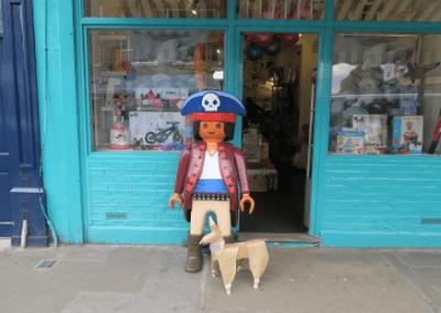 DOG land a pirate