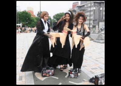 DOG with Tokyo Goth girls