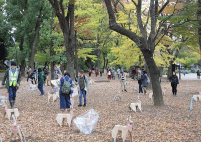 DOG takes over Ueno