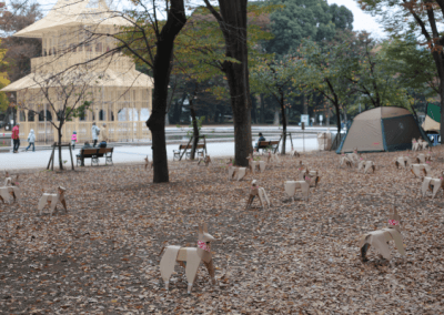 DOG Sculpture Installation