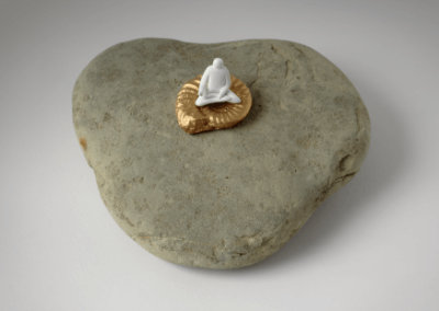 Take the Pebble is a series of conceptual sculptures by Akane Takayama.