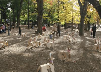 DOGTokyo2017 Ueno Park Akane Takyama sculpture