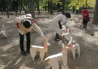 DOGTokyo2017 Akane Takayama sculpture in Japan